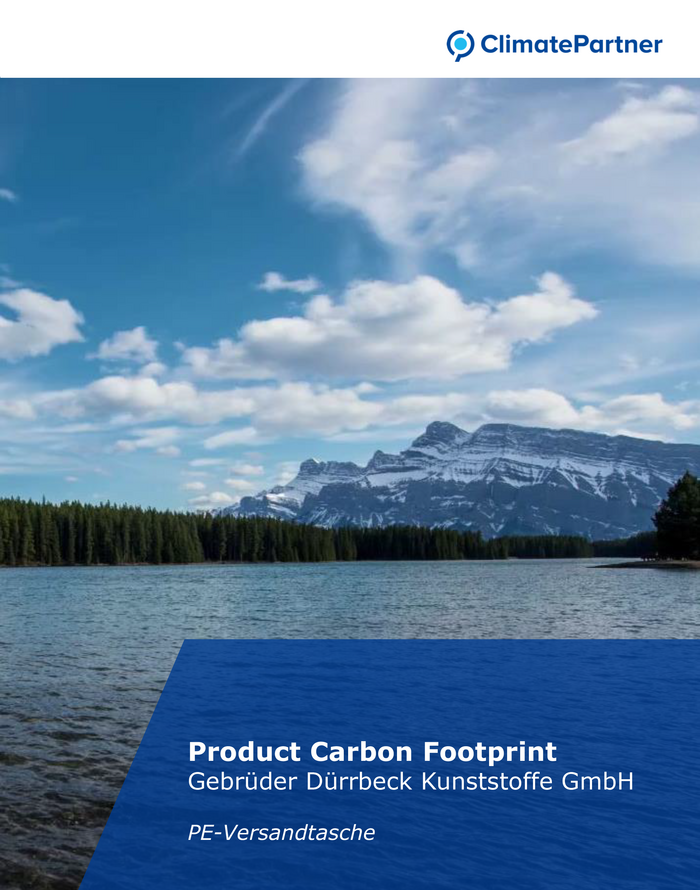 ClimatePartner Product Carbon Footprint
